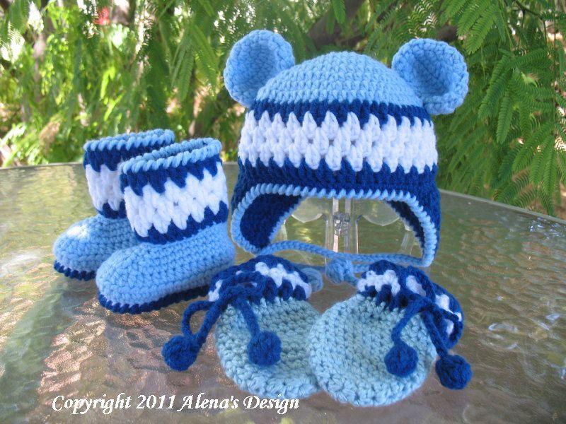 crochet baby pants free patterns | CROCHET BABY MITTENS PATTERN ...