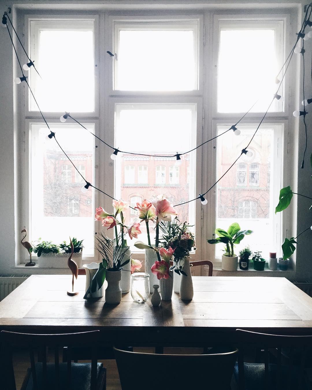 Lights Over Dining Room Table: String Lights Over Dining Room Table