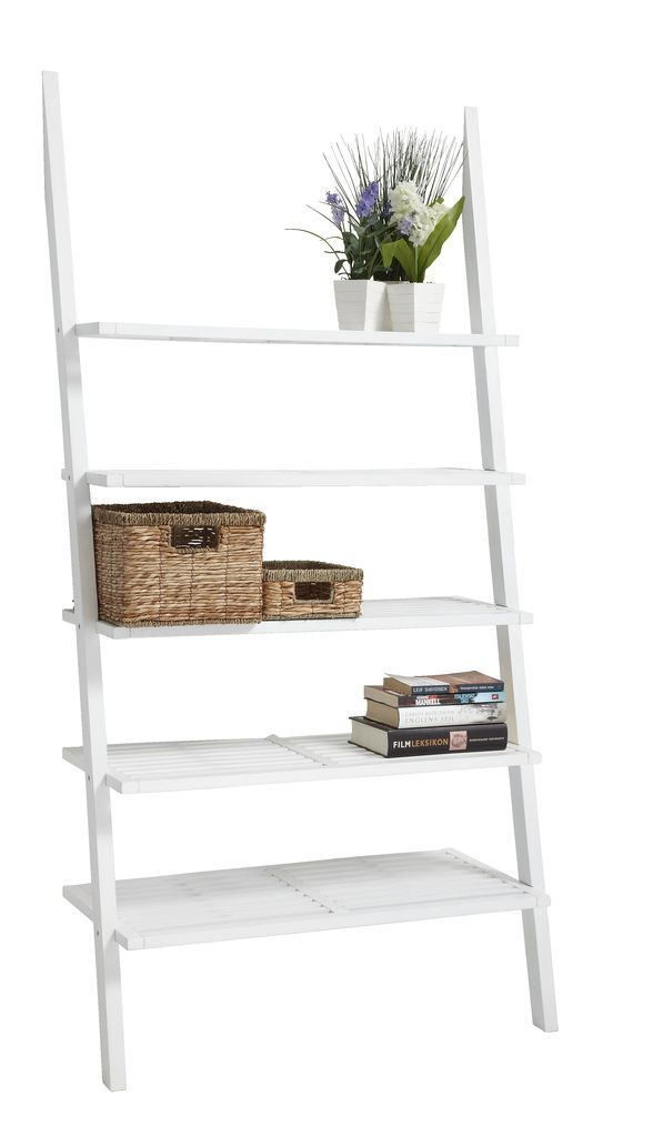 garden wall shelf fargo five shelves wide white jysk