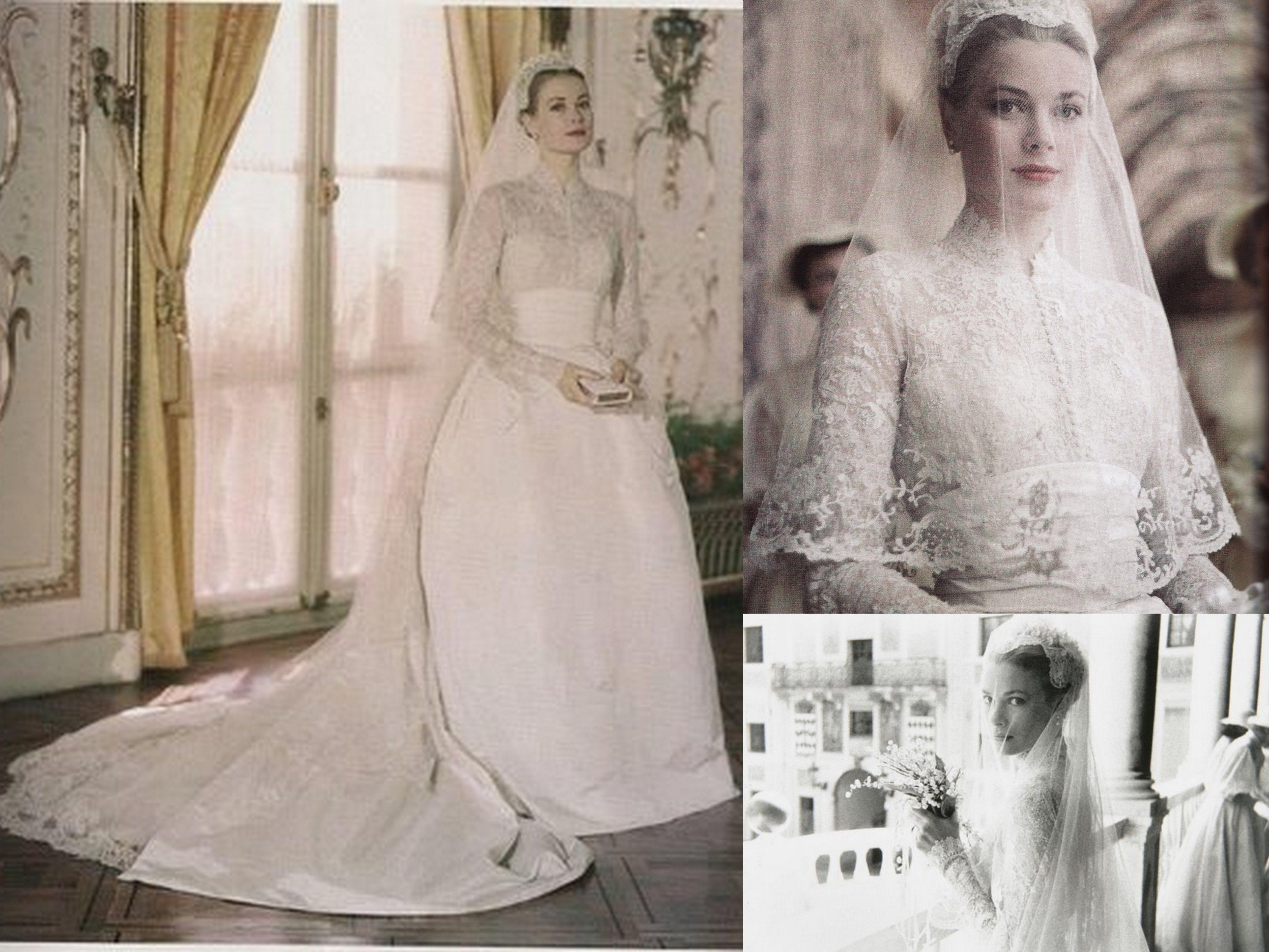 Princess Grace Bridal Inspiration | Vintage Glamour | Pinterest ...