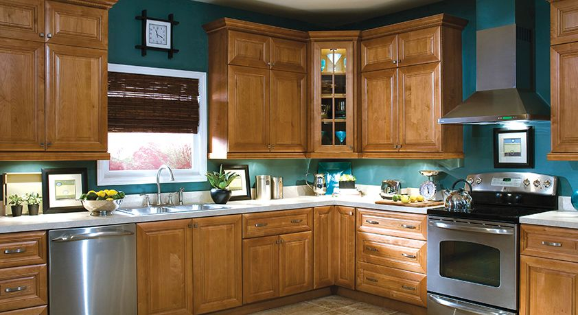 Superb Laguna Cinnamon| Home Decorators Cabinetry