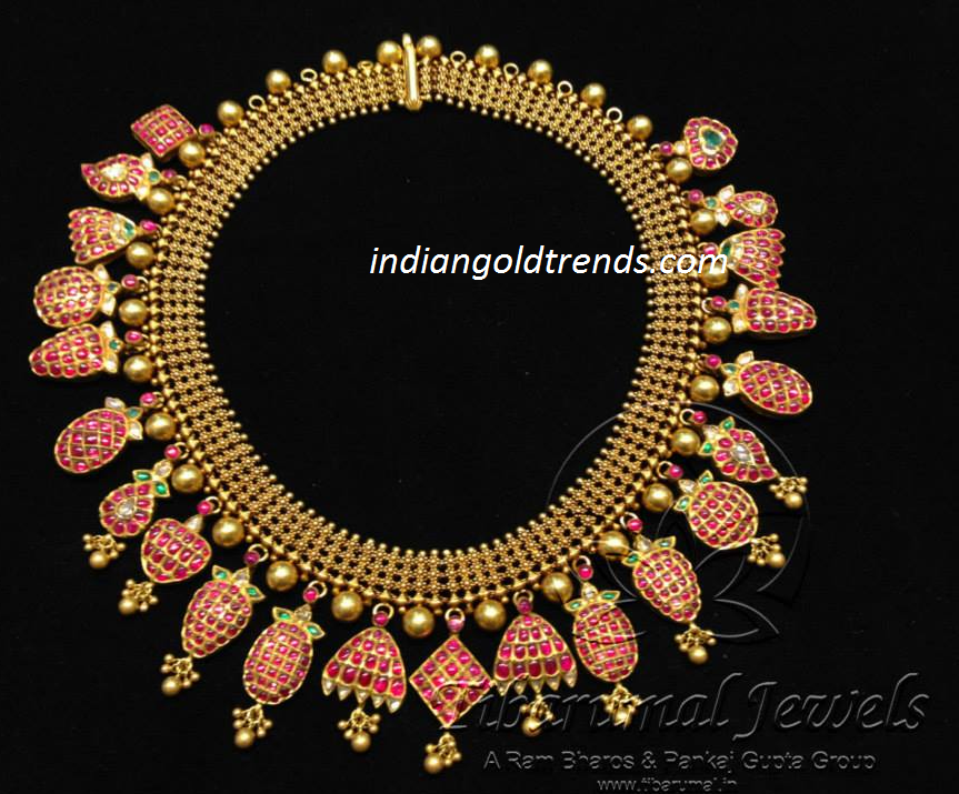 Latest Indian Gold and Diamond Jewellery Designs Unique designer