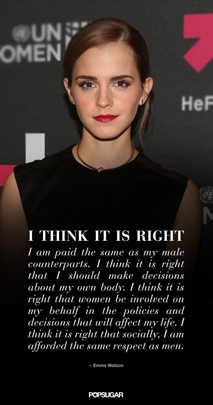 Emma Watson Launched the HeForShe Campaign