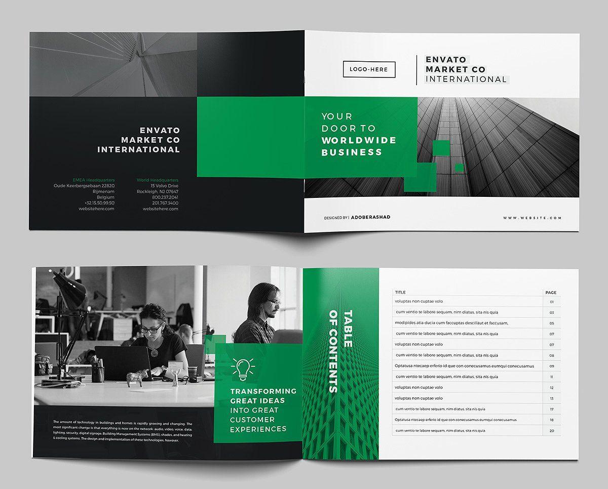 A5 Landscape Company Brochure Company Brochure Brochure Landscaping Company