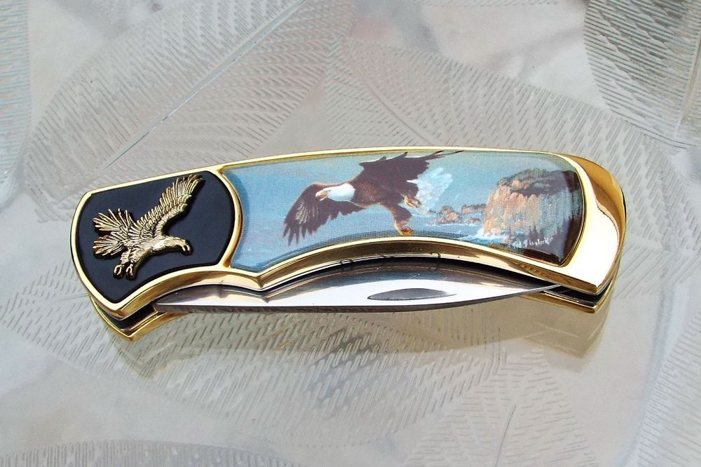 Details About Franklin Mint The Great American Bald Eagle