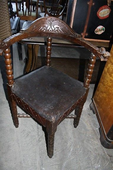 rare dragonchair from Norway