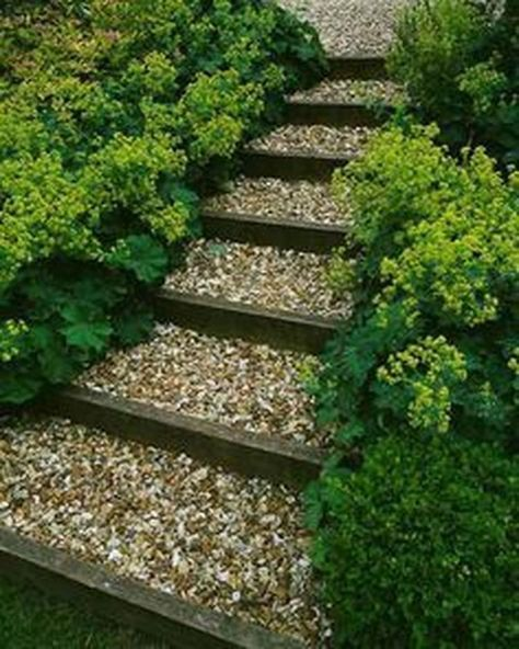 21 Landscaping Ideas For Slopes: 21+ Ideas For Garden Path On A Slope Walkways