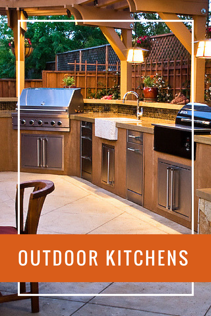 Outdoor Kitchens And Fireplaces Services Outdoor Kitchen Outdoor Kitchen Design Outdoor Rooms