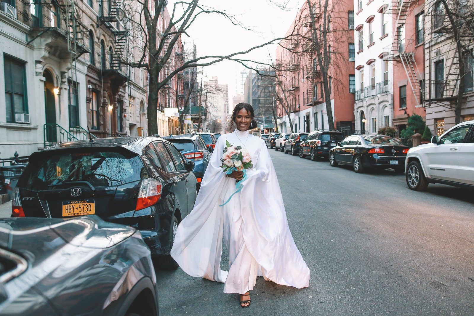 After Marrying At City Hall Model Aweng Ade Chuol And Alexus Ade Chuol Commemorated The Day With Tattoos And Pizza In 2020 City Hall Wedding Nyc Wedding New York City Hall