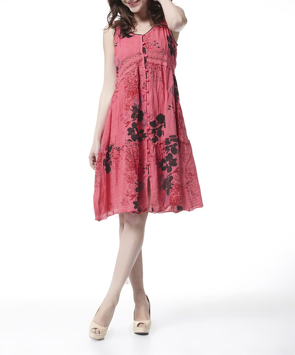 Look what i found on zulily simply couture red u black floral