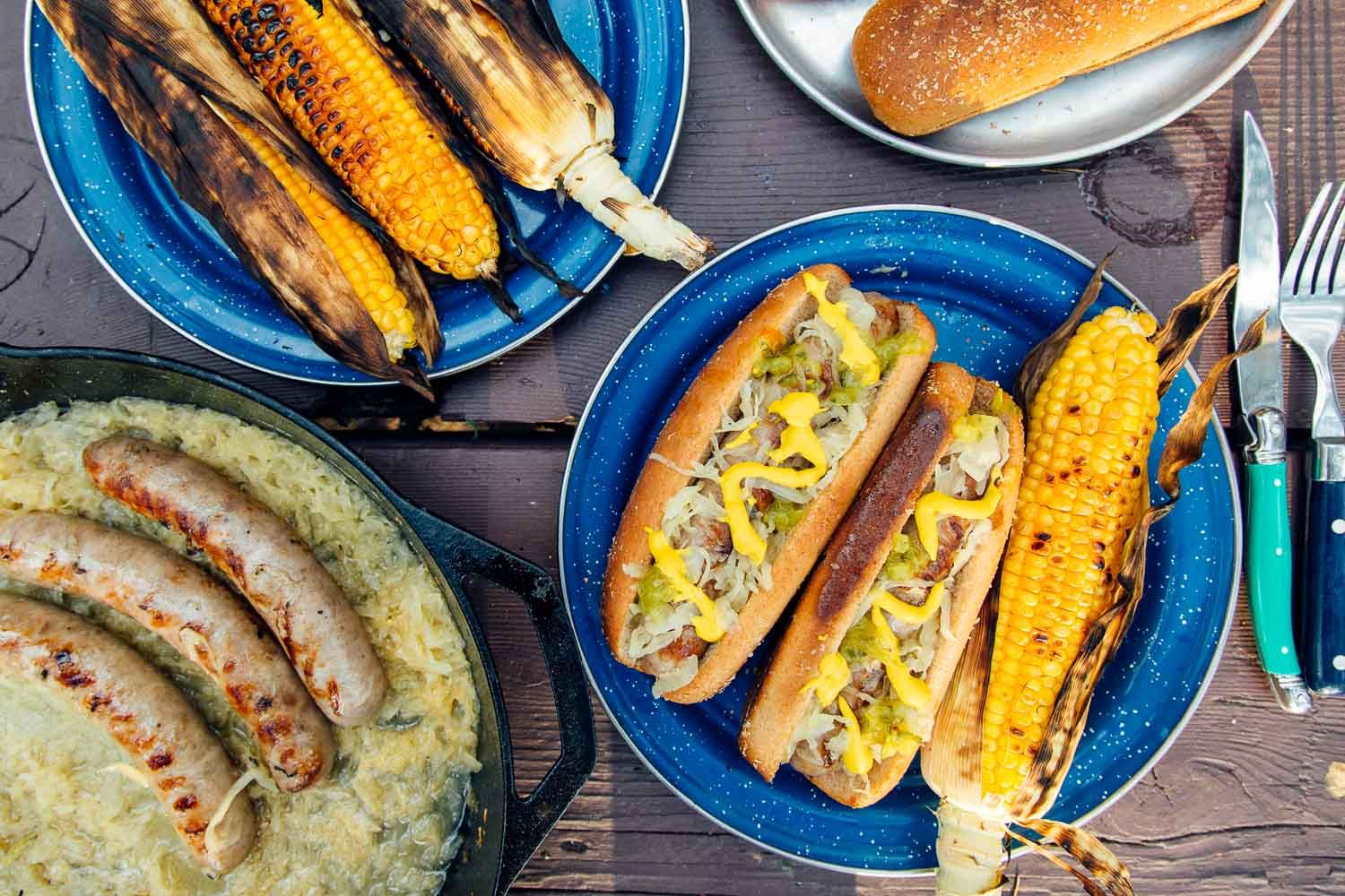 Grilled beer brats fresh off the grid recipe in 2020
