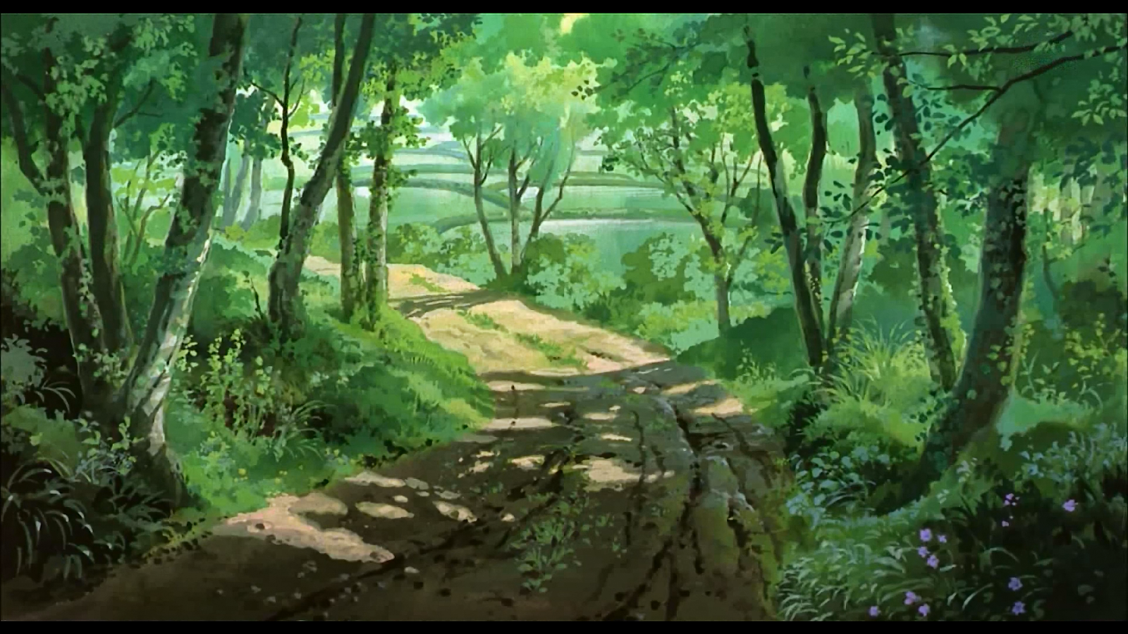 Anime landscape forest animation backgrounds - Anime forest background ...