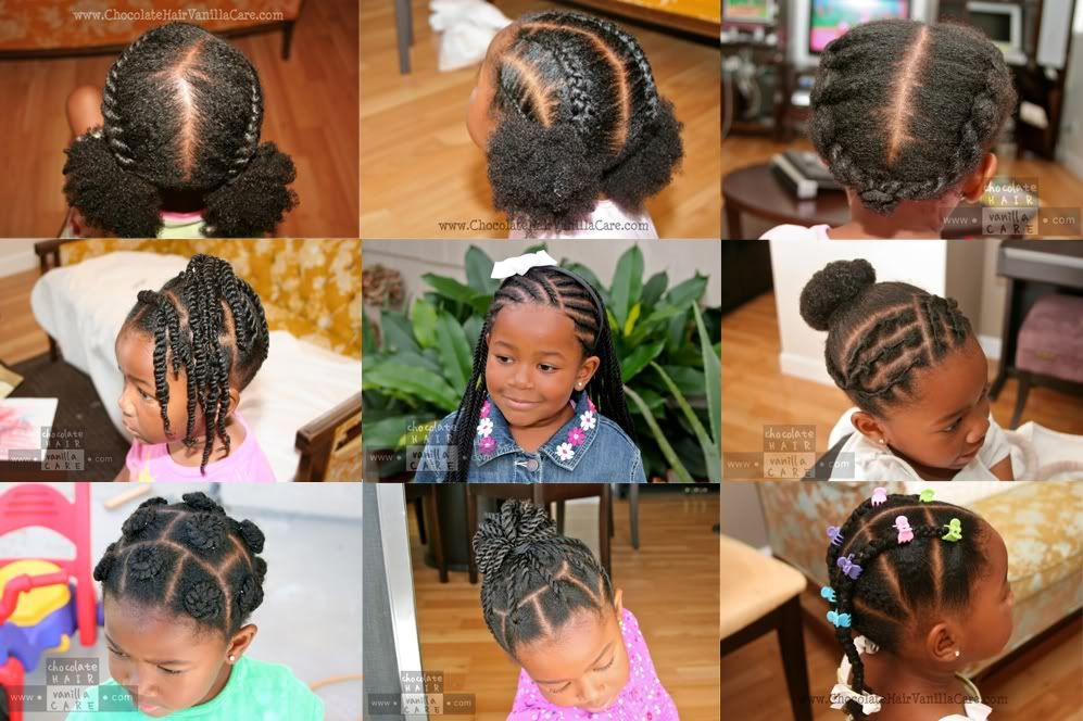 styling routine age 5 chocolate
