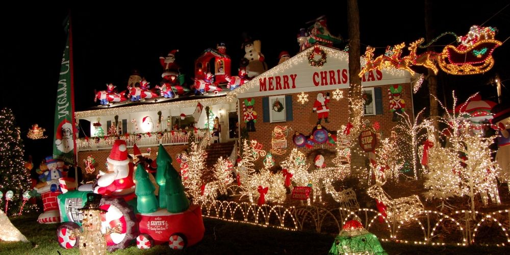 All Christmas decorations should be taken down at the end of the - christmas decorations for outside