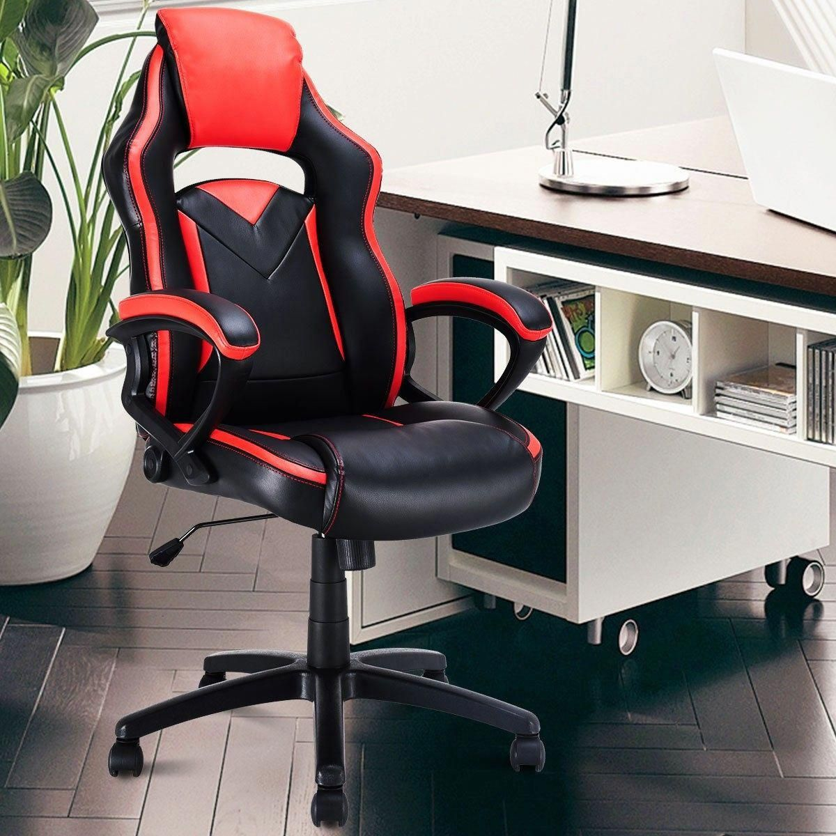Racing Style Swivel Computer Chair Best Office Chair Swivel