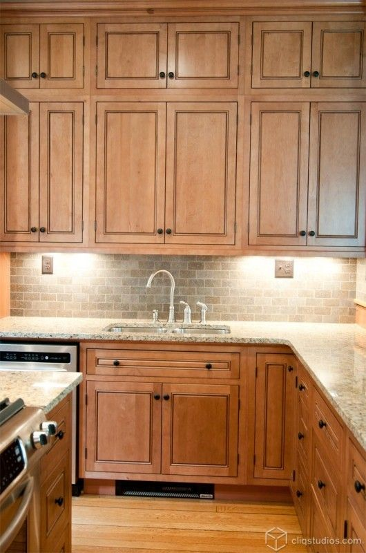Maple Cabinets Ideas On Foter Maple Kitchen Cabinets New Kitchen Cabinets Kitchen Renovation
