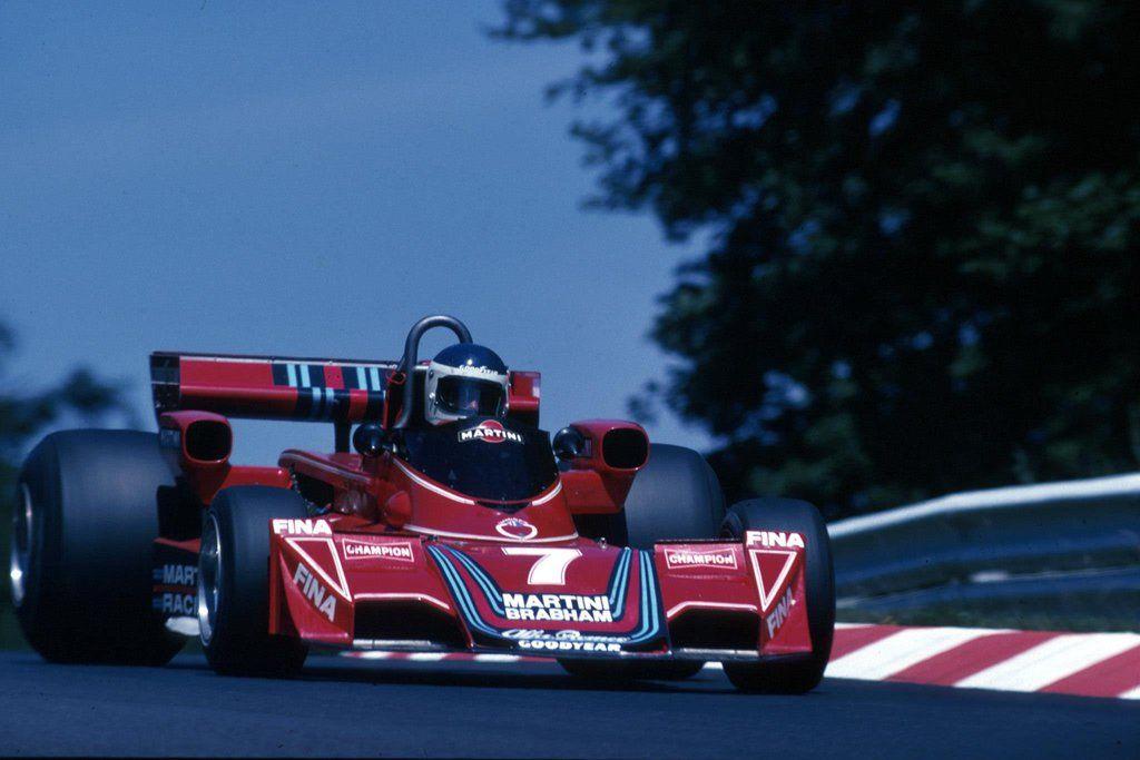 Carlos Alberto Reutemann (Martini Racing), Brabham BT45 - Alfa Romeo 115-12 3.0 Flat-12, 1976 German Grand Prix, Nürburgring Nordschleife
