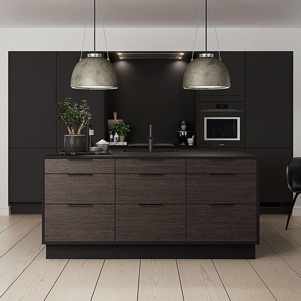 Küchenideen eng harmony dark og focus sort eg laminat  hth  luxury bathrooms and