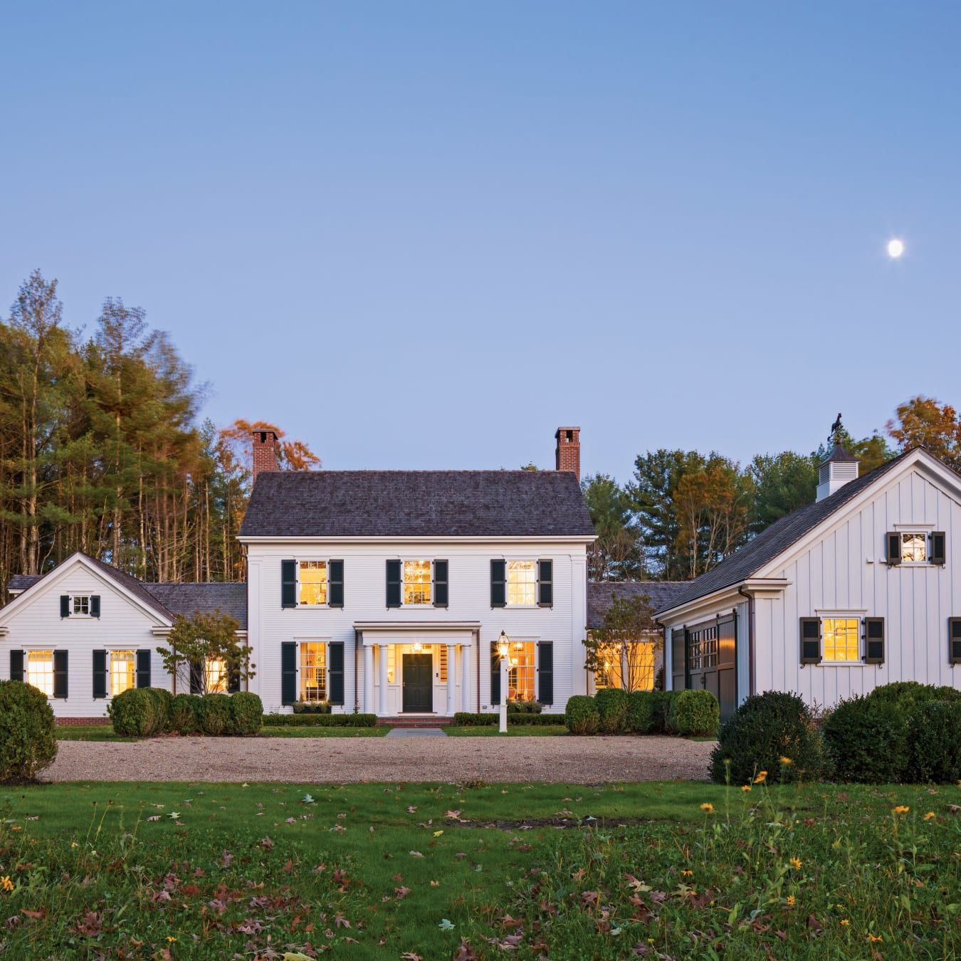 A Traditional New England Colonial In With Images