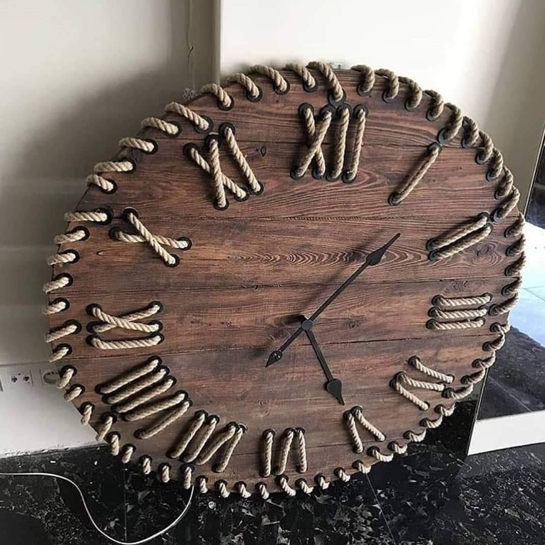 Find Woodworking Projects On Instagram Like It Or Love It Double Tap A Picture If You Like It Follow Us Findwoodwo In 2020 Woodworking Wooden Clock Clock