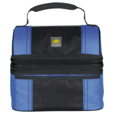 Personal Insulated 2 Section Lunch Cooler