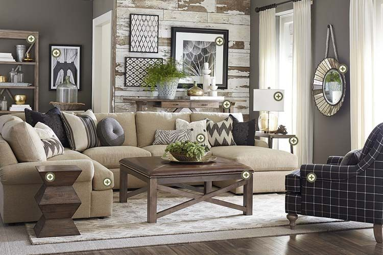 Best Rooms We Love Bassett Furniture Just A Different Print 400 x 300