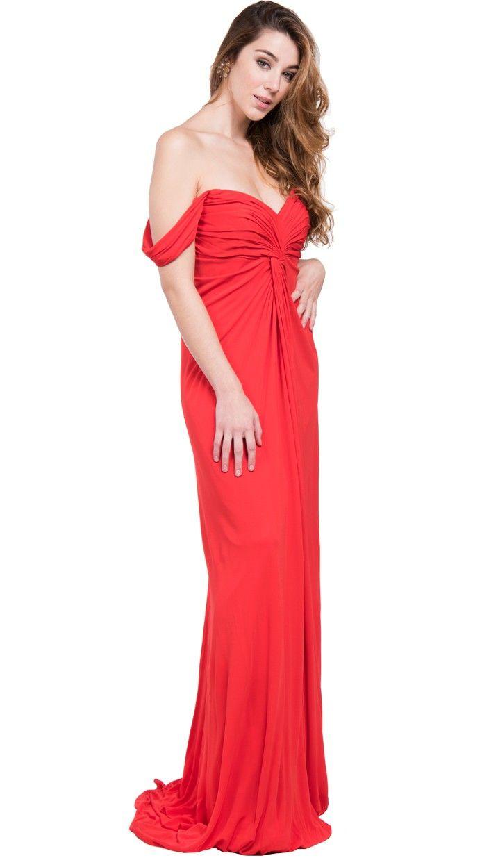 Vestidos largos para boda rojo