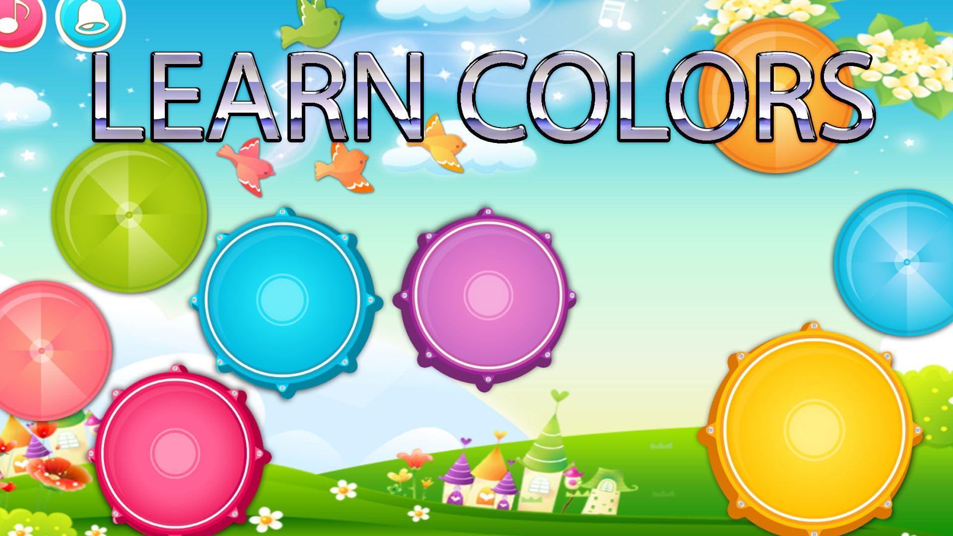Learn colors for preschool nursery children 3d rhymes | Learn ...