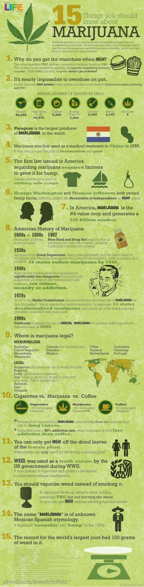15 things you should know about marijuana... Vapors