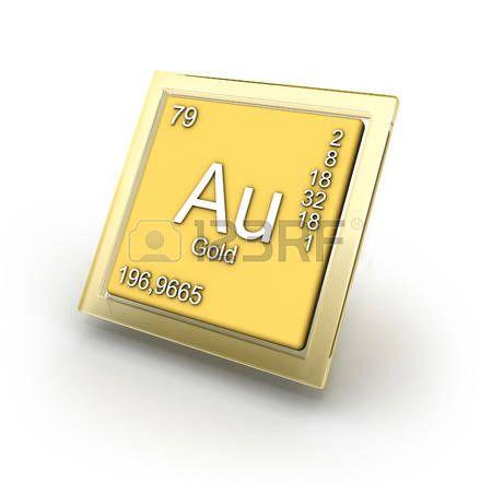 Signo del elemento químico Oro Gold Au Elementos químicos - copy ubicacion de los elementos en la tabla periodica pdf