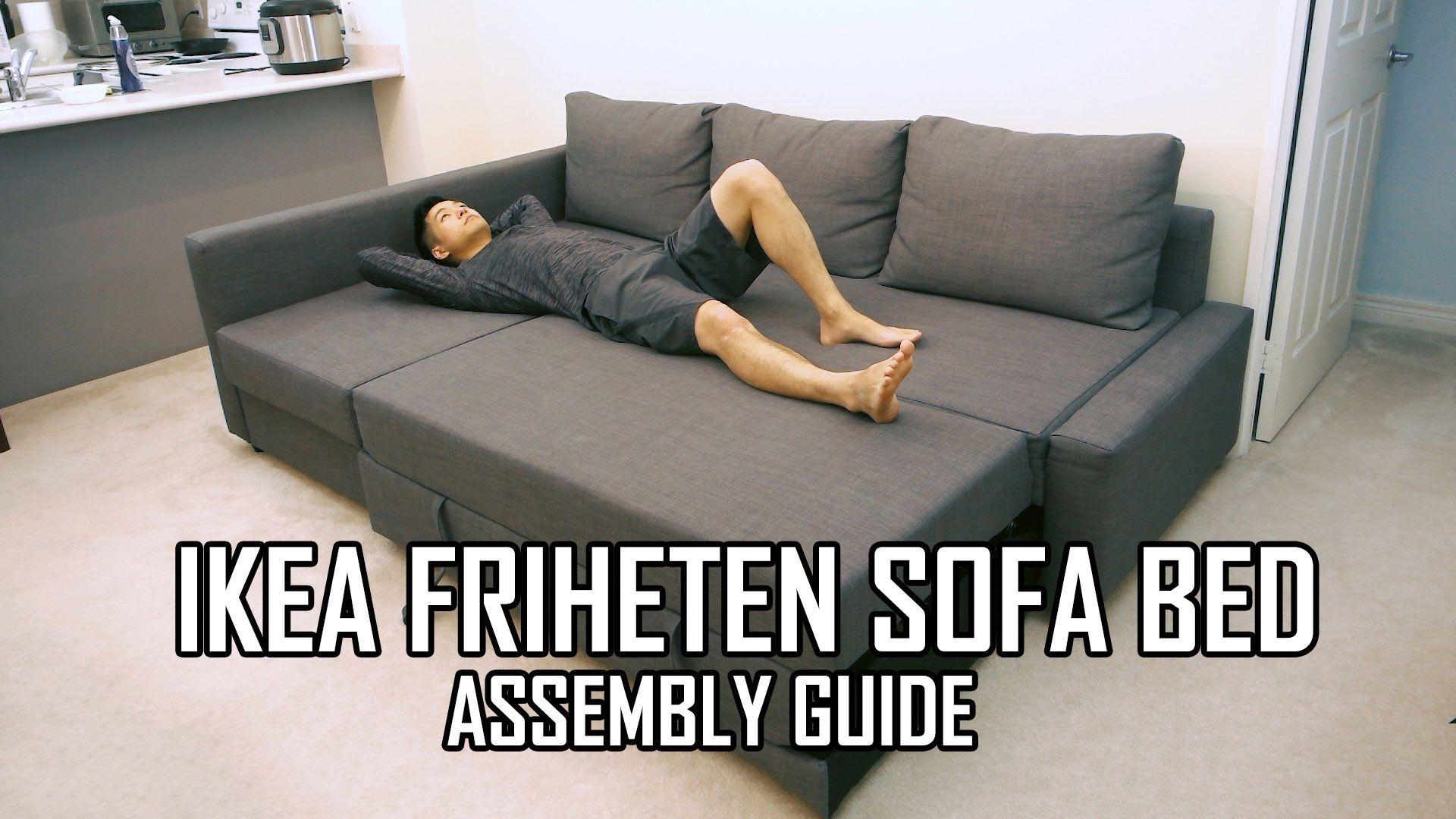Ikea Friheten Sofa Bed Assembly Guide Friheten Sofa Bed Friheten Sofa Ikea Sofa Bed