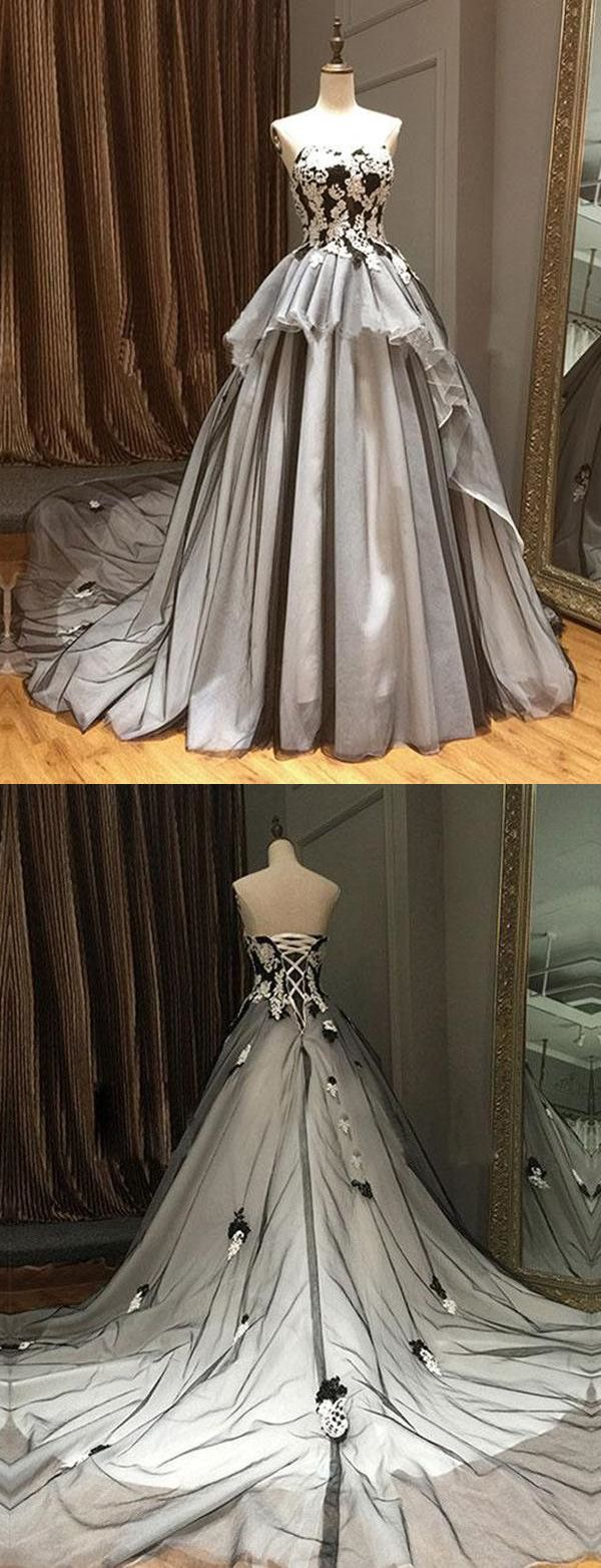 Vintage ball gown prom dress african black cheap long prom dress