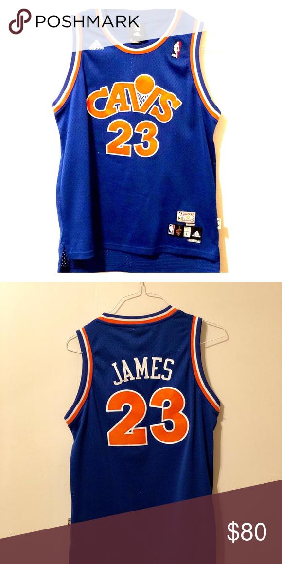 Vintage Adidas Lebron James Jersey