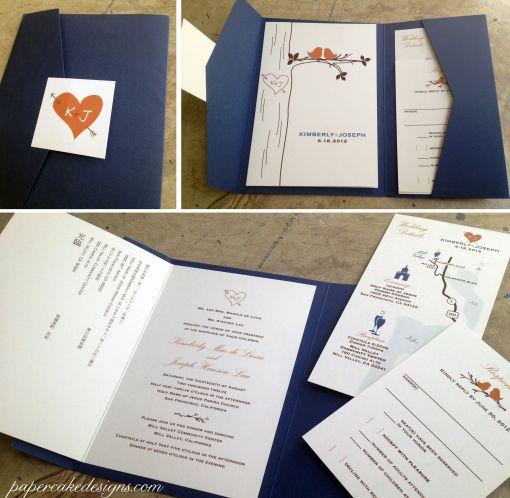 Diy Print Assemble Wedding Invitations Diy Wedding Invitations