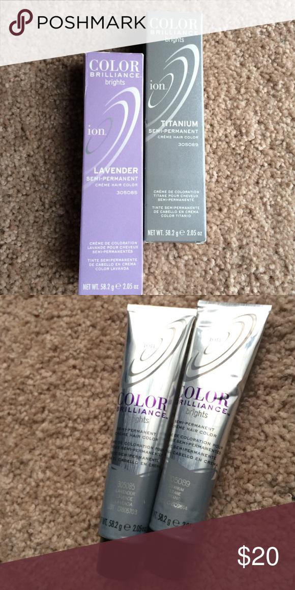 Ion titanium and lavender creme hair color | Hair colour brands ...