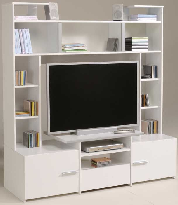 The Parisot Forum Tv Unit Looks Stunning In Any Room Decor The Tv Unit Is A Reliable Good Quality Furnit Tv Storage Unit Tv Storage False Ceiling Living Room