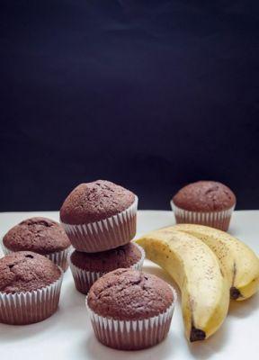 Chocolate banana muffins - Recipe Detail - BakeSpace.com