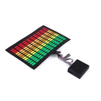Amazon.com: HDE Sound-Activated Rave LED Panel w/ Sensor Module - Multicolor Speaker: Clothing