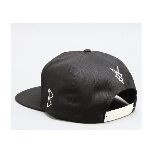 "67df64cbc87 BLVCK SCVLE ""Anadrome"" Snapback Cap ❤ liked on Polyvore featuring  accessories"