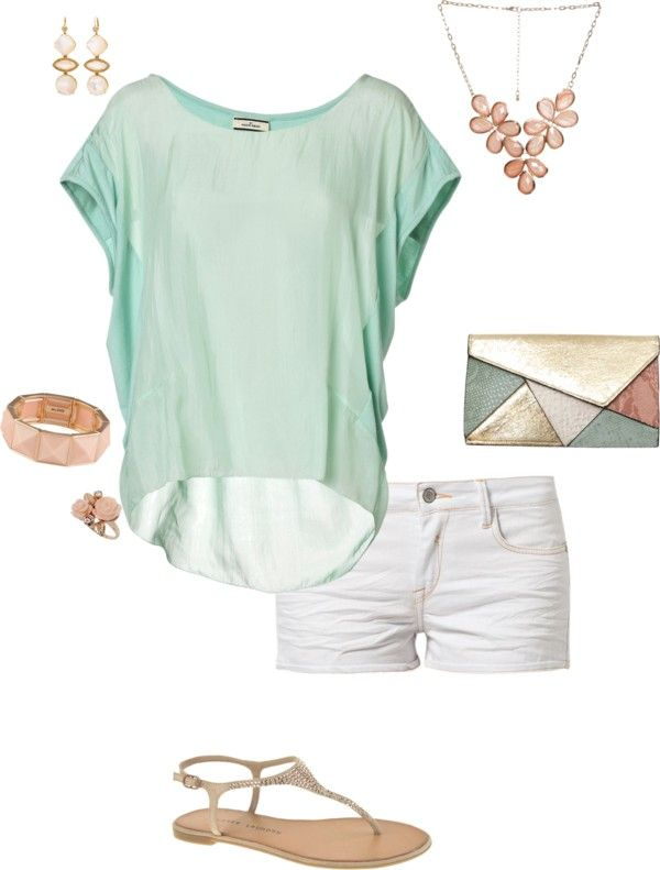 """Contest: Pastels Gone Edgy"" by erinlindsay83 on Polyvore"
