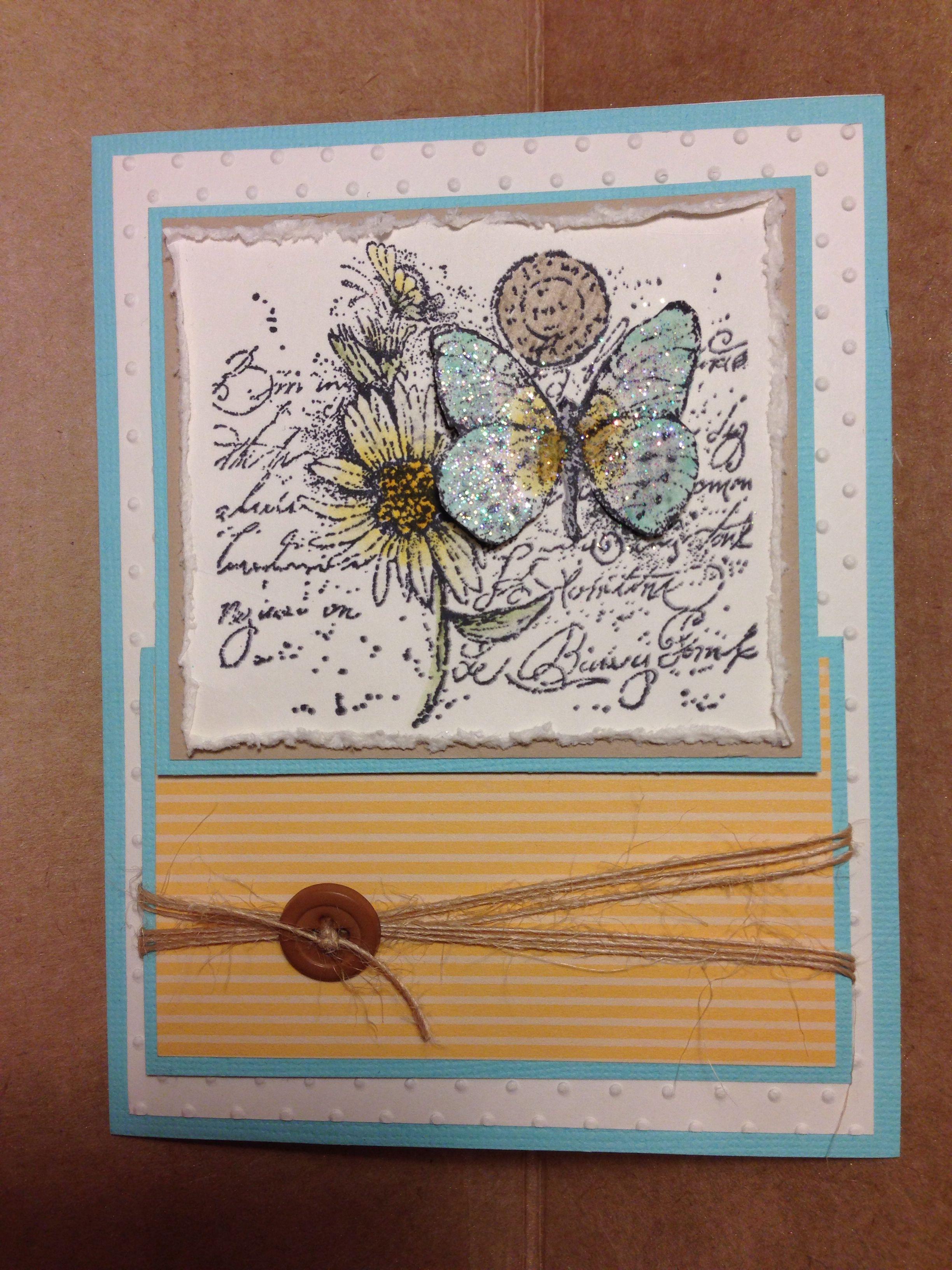 Birthday card My handmade cards Pinterest