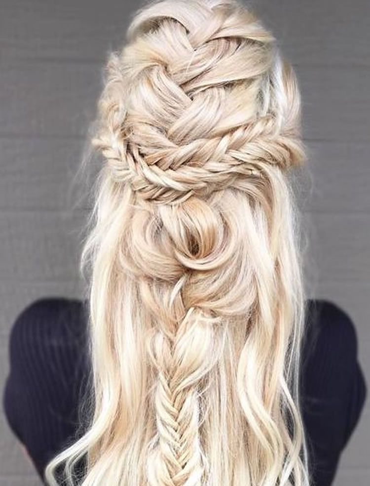 Beautiful Blonde Hair Styles For Long Hair Colors Hair For An