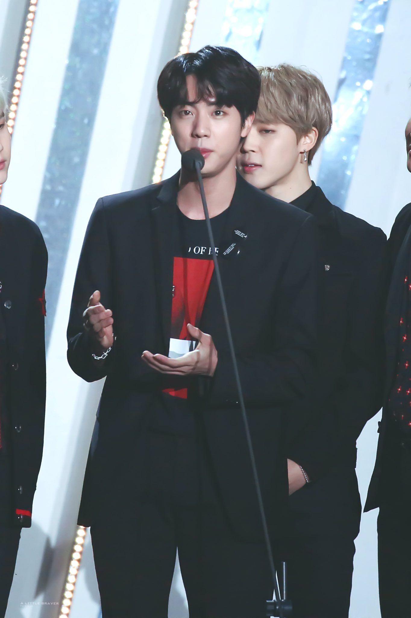 180125 27th Seoul Music Awards 2018 Jin Bts