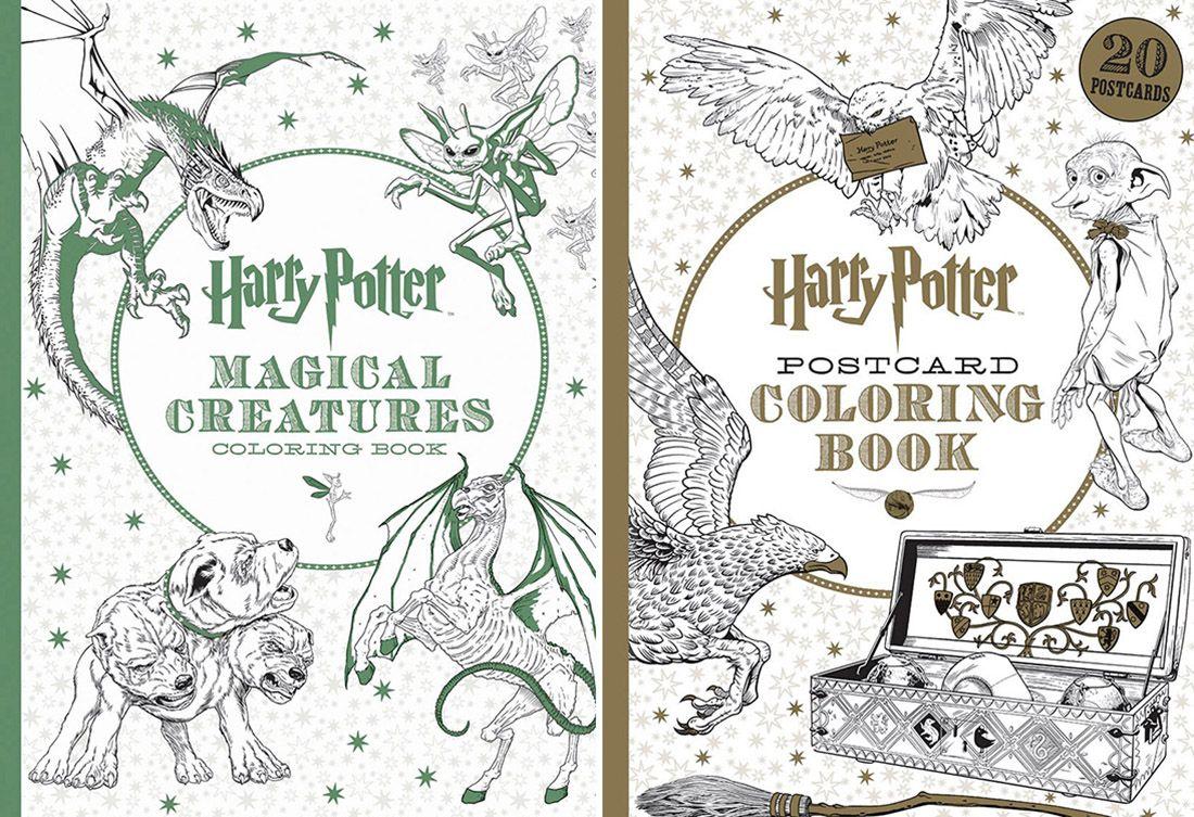 Emejing Harry Potter Coloring Books Gallery - Triamterene.us ...