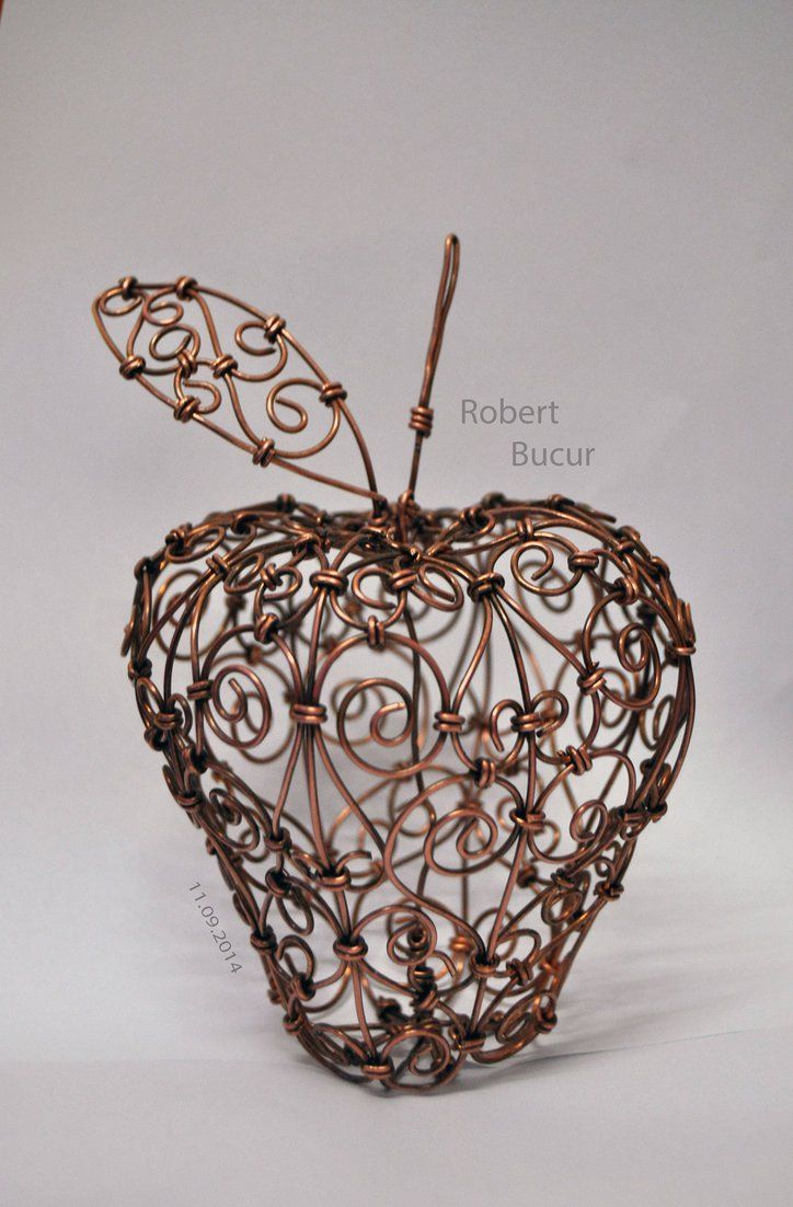 Wire Sculpture Apple Center 1187 Remington Diagram Http Wwwar15com Archive Topichtmlb6f49 Wireart By Robytoxic Crafts Pinterest Apples Rh Com Animal Sculptures Tree