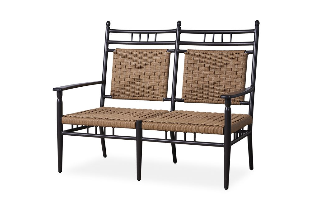 Low Country Cushionless Settee Furniture Outdoor Furniture