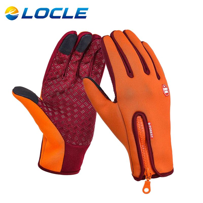 Touch Screen Winter Warm BMX Cycle MTB Mountain Bike Bicycle Cycling Gloves