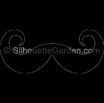 Page Not Found Handlebar Mustache Silhouette Clip Art Silhouette Art