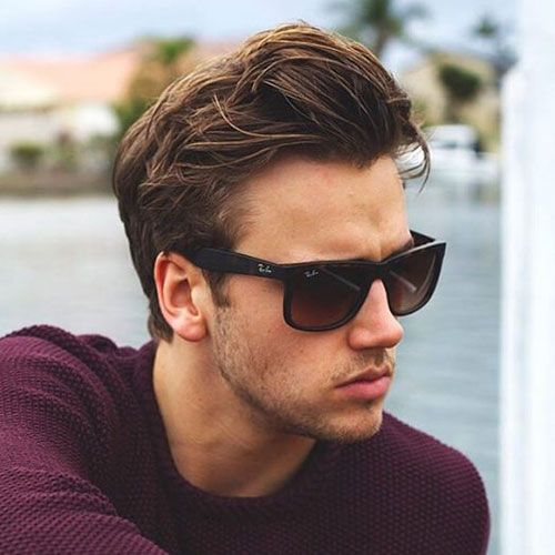 Men's Widows Peak Hairstyles 17 Best Widow's Peak Hairstyles For Men  Pinterest  Side Swept