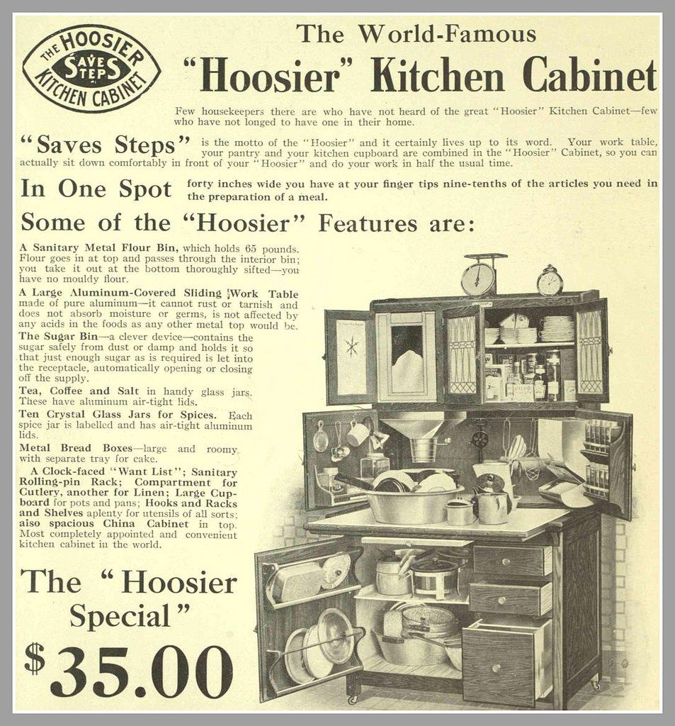 Best The Daily Bungalow Circa 1910 Hoosier Kitchen Cabinet By 400 x 300